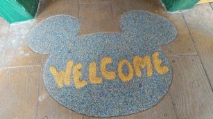 Dentro da casa do Mickey
