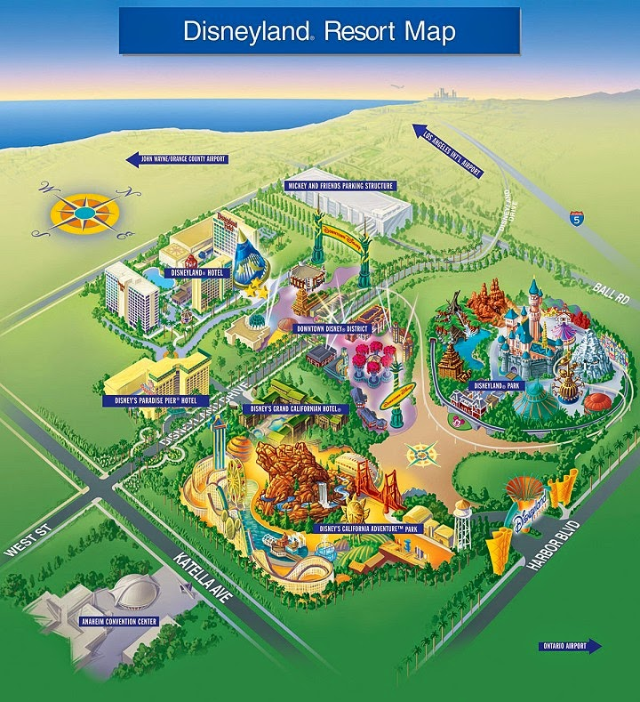 Disneyland_Resort_Map
