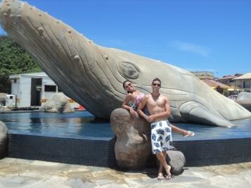 Baleia na Praça da Baleia