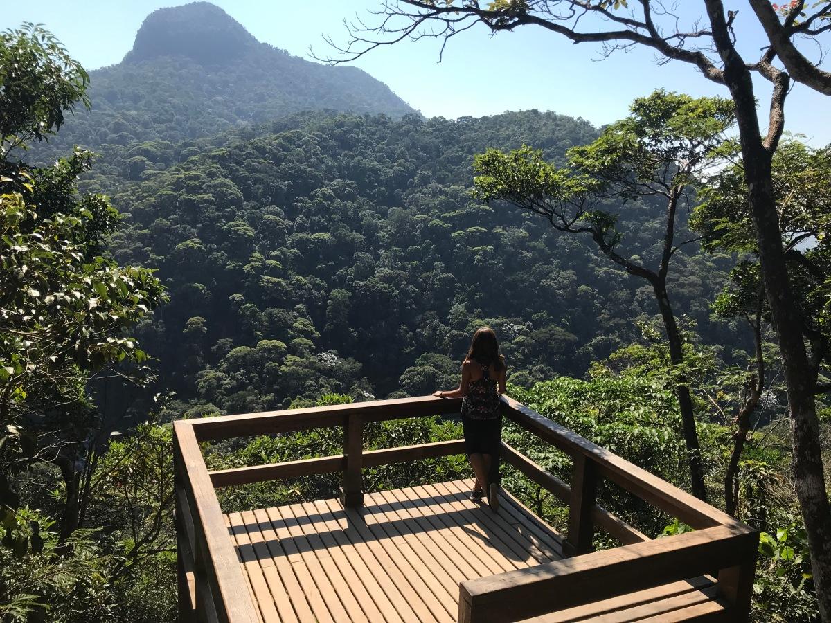 Trilha para o Mirante da Cascatinha e Cachoeira das Almas no Rio de Janeiro