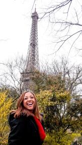 Foto da Torre na lateral da Champs des Mars